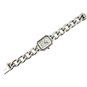 Chanel Premiere Stainless Steel Mother of Pearl Lady's Watch, Medium Model H1064