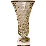Fostoria American Square Footed Flared Vase
