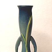 "SALE Lovely Roseville Zephyr Lily In Blue ~ #201-7"" Bud Vase"