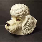 SALE Vintage Inarco Poodle Dog Head Vase No. E2517  Made In Japan - MIJ