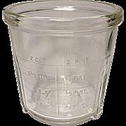 1930's Vintage MELJAX Beater Jar Only - Art Deco