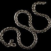 SALE Vintage Spiga Chain 925 Designer Sterling Chain
