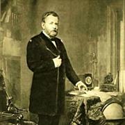 SOLD 1907 'Ulysses S. Grant' Presidential Portrait , Fine Art, Gravure Print