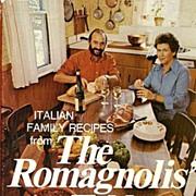 SOLD RARE 1975 'The Romagnolis' Table' w/ DJ – Italian Cookbook / Restaurant