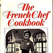 SOLD 1968 JULIA CHILD 'The French Chef Cookbook' DJ, Stated First Edition, Master Chef
