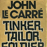 SOLD SCARCE 1974 1st Ed `Tinker, Tailor, Soldier, Spy' w/ DJ – John Le Carre/  Mystery / Vin