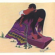 SOLD 1973 American Indian Cooking & Herb Lore Cookbook, 1st Ed, Illustrated, Herbal Medicine,