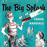 RARE 1960 1st Ed 'The Big Splash' w/ DJ Mystery – Illustrated / Out-Of-Print / Vintage