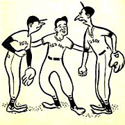 SOLD SCARCE 1947 1st Ed `The Red Sox' The Bean and The Cod - Baseball / Tom ...