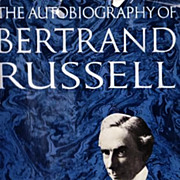 SOLD RARE 1967 1st Ed 'Bertrand Russell' Autobiography w/ DJ – Nobel Prize Philosopher / Pho