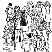 SALE 1950 1st Ed `Belles on Their Toes' Gilbreth Family -  Illustrated, Cheaper by the Dozen .
