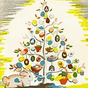 SOLD RARE 1950 'The Egg Tree' 1st Ed, DJ, Easter Holiday, Katherine Milhous Folk Art ...