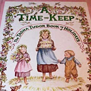 SOLD A Time to Keep: The Tasha Tudor Book of Holidays, 1977 1st Ed, Corgi ...