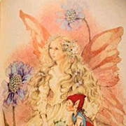 1982 'Fairy Poems for the Very Young'  Stated First Edition, Illustrated, RARE - Beverlie Mans