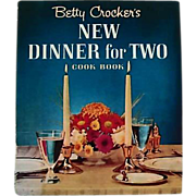 SOLD 1964 Betty Crocker's New Dinner For Two Cookbook, RARE First Edition, First Printing, Ove