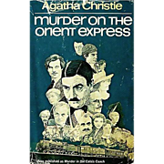 1960 Agatha Christie 'Murder on the Orient Express' DJ, Mystery, Allan Mardon Illustration