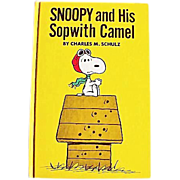 1969 'Snoopy and His Sopwith Camel' Charles M. Schulz, RARE Stated First Edition, Red Baron, P