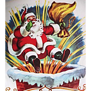 SOLD 1949 Little Golden Book 'The Night Before Christmas', Clement C. Moore, Holiday, Santa