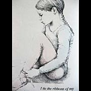 SALE 1980 'My Ballet Class' Rachel Isadora, RARE 1st Ed, 1st Print, Ballerinas, Art, Ballet Da