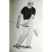 SOLD 1964 'Golf Magazine's Your Long Game' Gene Sarazen, Illustrated 1st Ed, DJ, Jimmy .