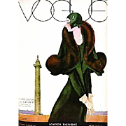 SALE RARE 'Art of Vogue Covers' 1909-1940, DJ, Fashion, Art Deco, Vogue Magazine, Haute ...