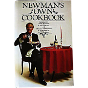 SALE Rare Paul Newman SIGNED 'Newman's Own Cookbook' 1985 First Edition, DJ, Photographs, Ente