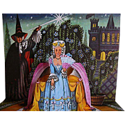SALE 1982 Cinderella Pop-Up Book, 3D Panorama Art, RARE Out-of-Print, First Edition ...