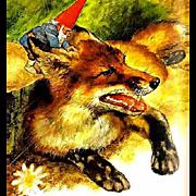 1977 Gnomes 'Rien Poortvliet' Art, RARE First Edition, DJ, Fantasy, Wil Hyugen, Mythology, ...