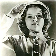 SOLD SCARCE 1950's Shirley Temple Hollywood Studio Photograph - Movie Memorabilia / Child Star