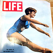 RARE July 31, 1964 LIFE Magazine OLYMPICS - Barbara Talmage / Sports / Peter Sellers / Politic