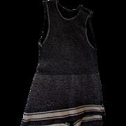 SOLD 1920's Men's Wool Tank Bathing Suit