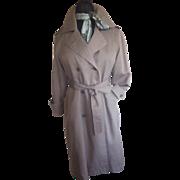 SALE Ladies London Fog Trench Coat  6 petite