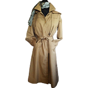 "SALE London Fog ""Maincoat"" Hood and Fleece Lining 14 Reg"