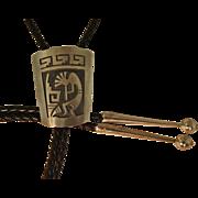 Vintage Hopi Bolo Tie Kokopelli