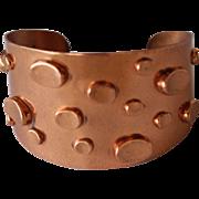 Vintage Renoir Copper Bracelet Mid 20th Century