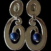 Vintage Taxco Earrings Bold Dangles Brenda Schoenfeld