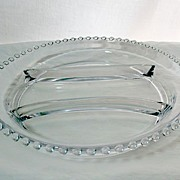 SALE Large Vintage Elegant Imperial Glass Candlewick Crystal Glass Relish Tray~#400/56~MINT