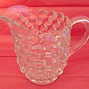 Vintage Crystal Glass Fostoria American ½ Gallon Jug 1915-86 Mint