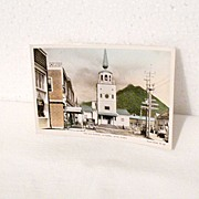 SALE Vintage Collectible Real Photo The Old Russian Cathedral Postcard Sitka Alaska  Unused ..