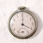 SOLD Vintage Collectible Westclox Pocket Ben Watch 1950s Works