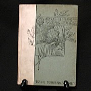 SALE Book The Birds Christmas Carol by Kate Wiggin Christmas Book 1896 Excellent Condition