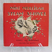 SALE Vintage Collectible   Book Mike Mulligan & HIs Steam Shovel Excellent Condition No Dust .