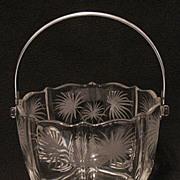 SALE PENDING Vintage Collectible Fostoria Lido Ice Bucket Mint 1937-60
