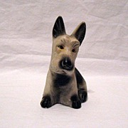 SALE Vintage Collectible Carnival Chalkware Scotty Dog 1930-50s Excellent Condition