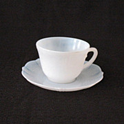 9  Sets Vintage Collectible MacBeth-Evans Cups and Saucers American Sweetheart Pattern in Mona