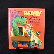 SALE Vintage Book Bob Clampett's Benny:Cecil Captured For The Zoo 1954 Edition Like New Condit