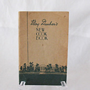 Vintage Collectible Mary Dunbar's New Cook Book Jewel Tea Co. 1933 Very Good Vintage Conditi