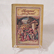 SALE Vintage German Book Kommet Zu Jesu Of Religious Tales 1920s Printed in Germany Print is G