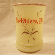 SALE Vintage Heisey Custard Tumbler Early 1900s Excellent Condition