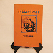 SOLD Vintage Indian craft Book by W. Ben. Hunt 1048 Very Good Condition